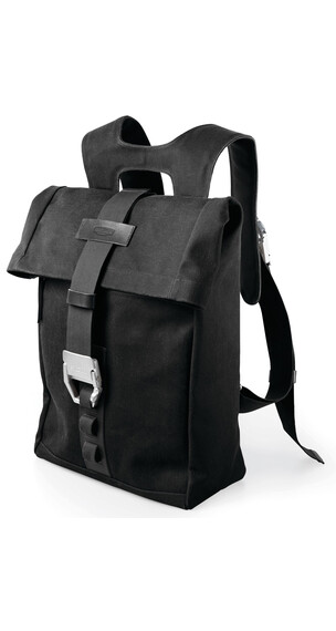 Brooks Islington - Mochila bicicleta - Canvas 22-30 L negro
